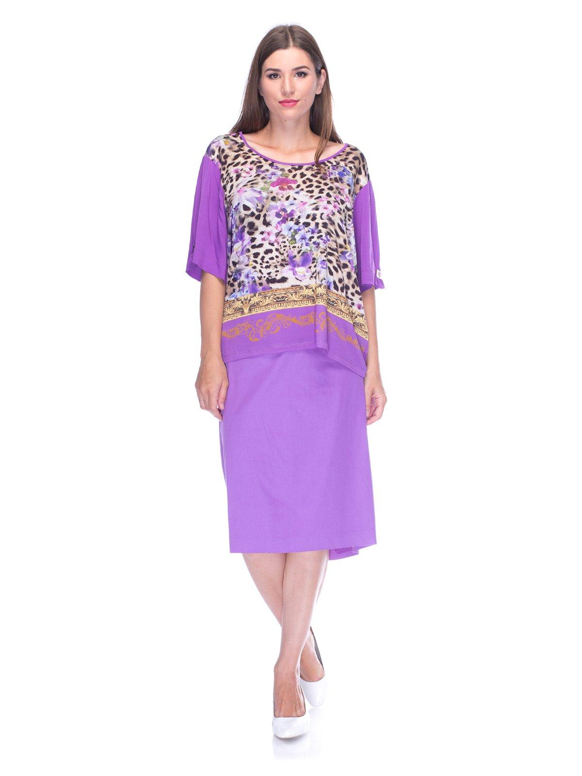 Комплект: блуза і спідниця | 3455562