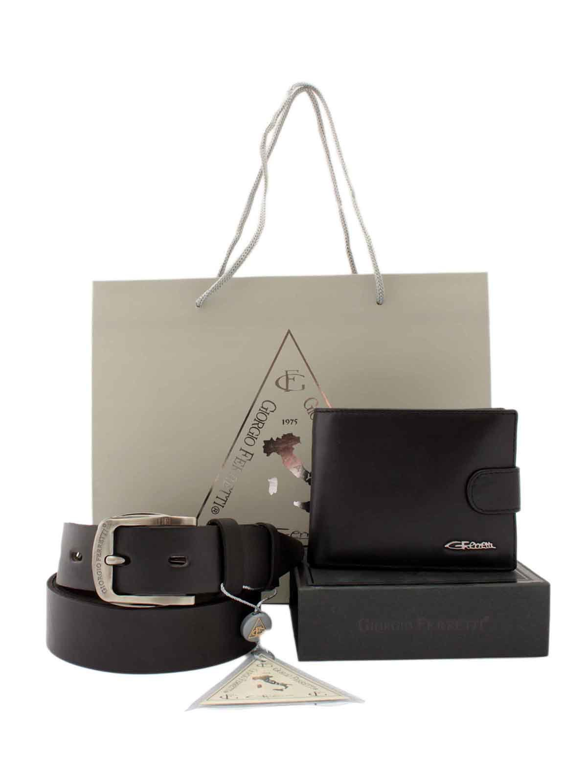 Набор: портмоне и ремень | 3451091