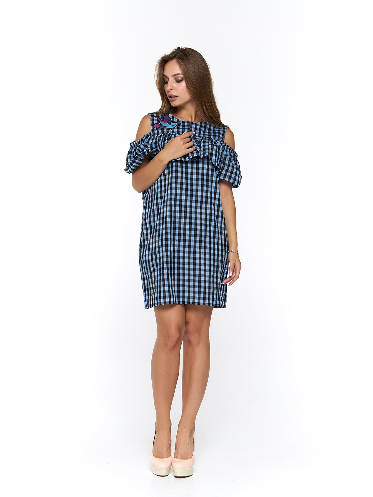 Платье клетчатое | 3474985