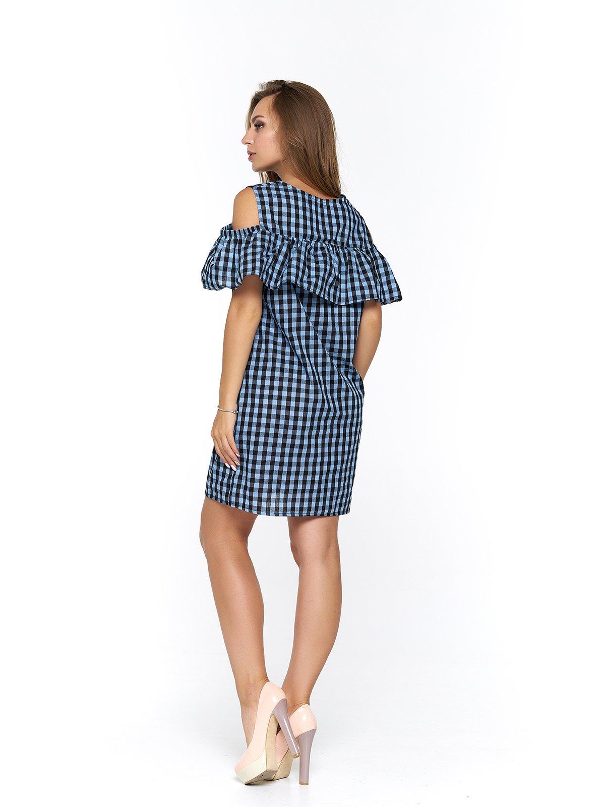 Платье клетчатое | 3474985 | фото 2