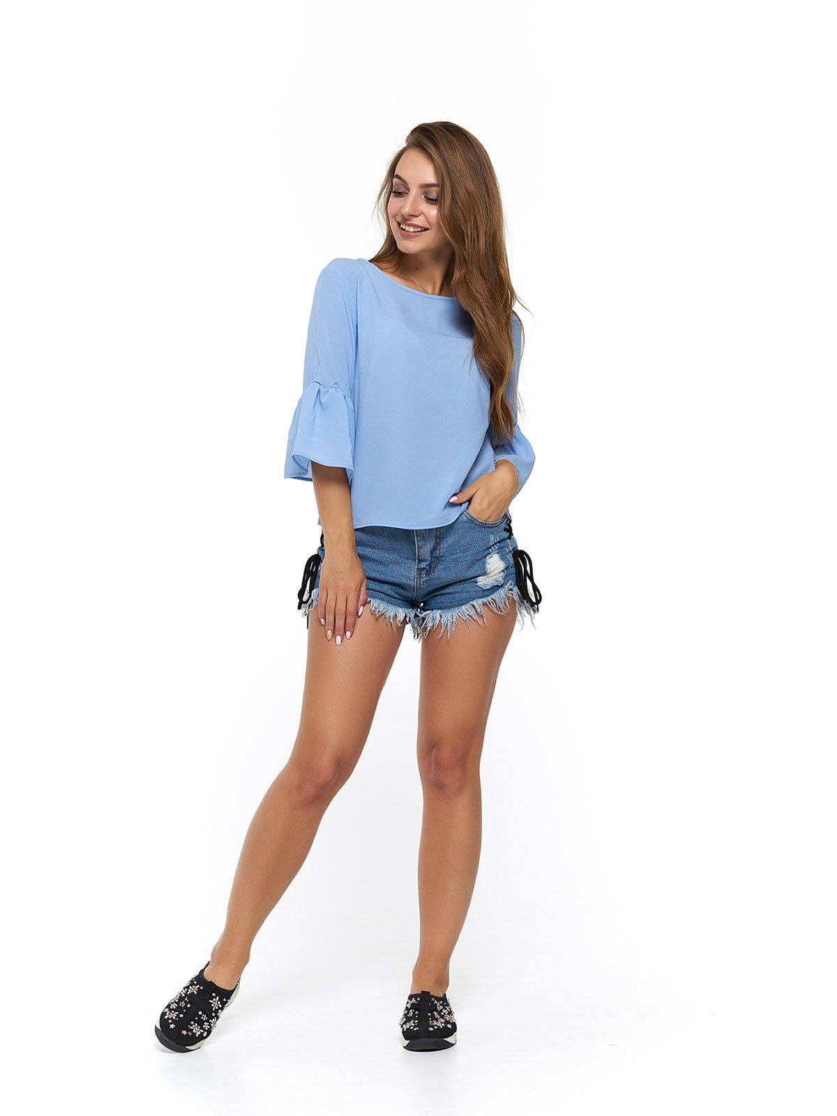 Блуза голубая | 3474999