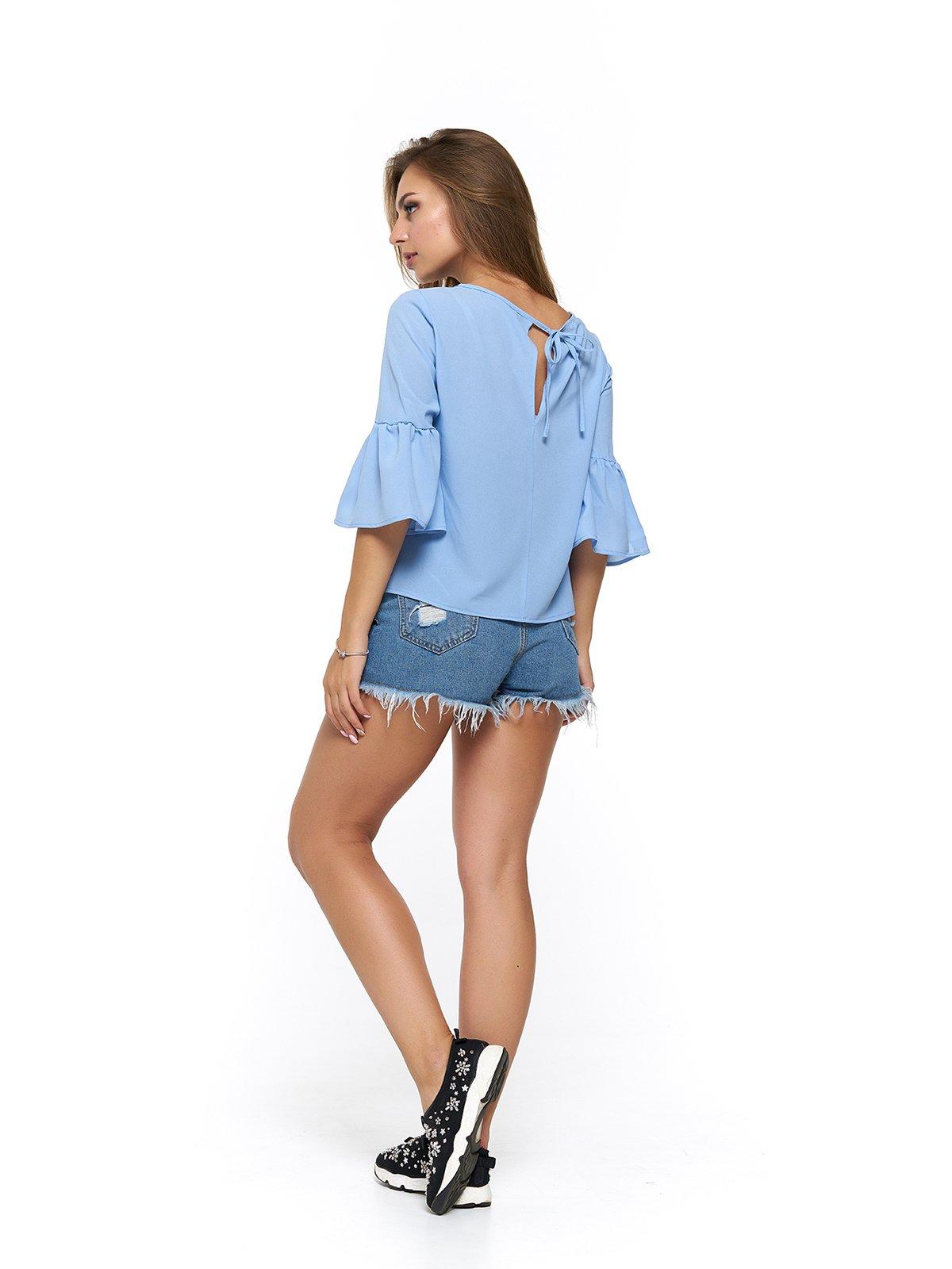 Блуза голубая | 3474999 | фото 2