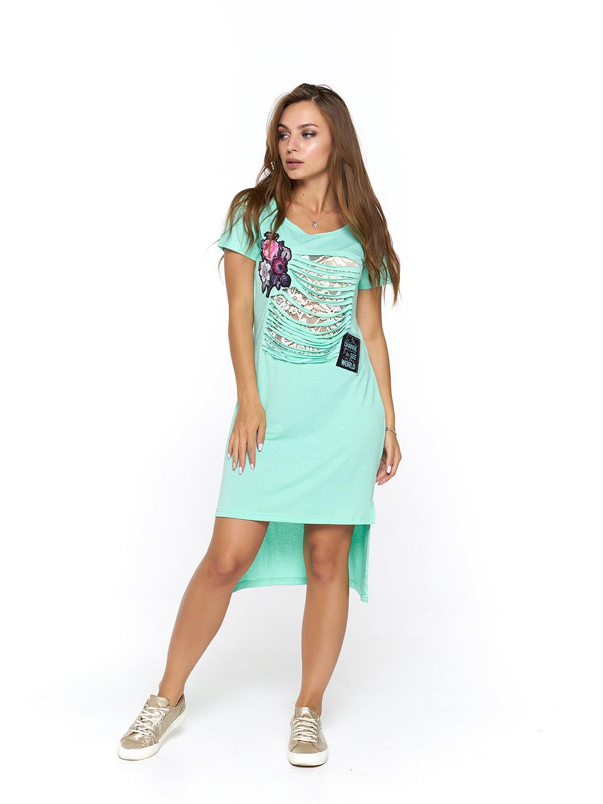 Сукня м'ятного кольору   3475028