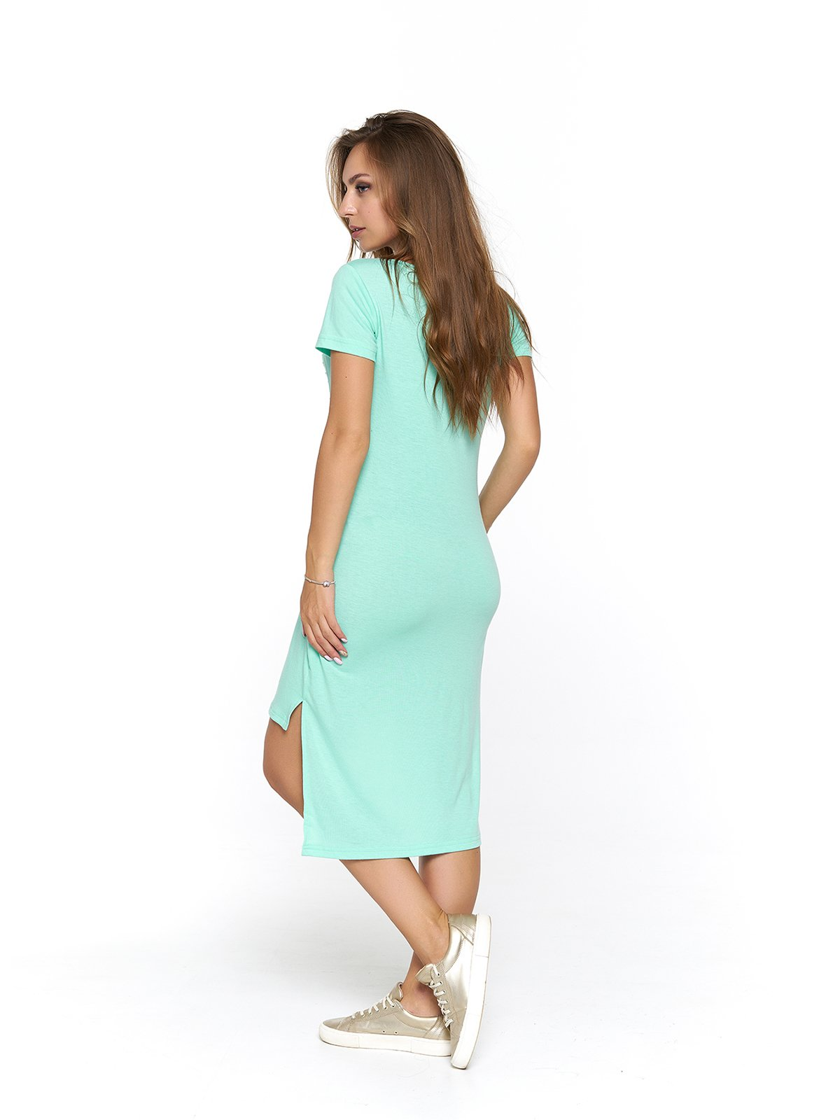 Сукня м'ятного кольору   3475028   фото 2