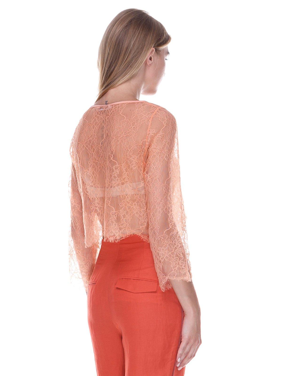 Блуза персикового цвета | 3469361 | фото 2