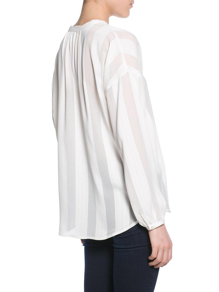 Блуза белая | 2350747 | фото 2
