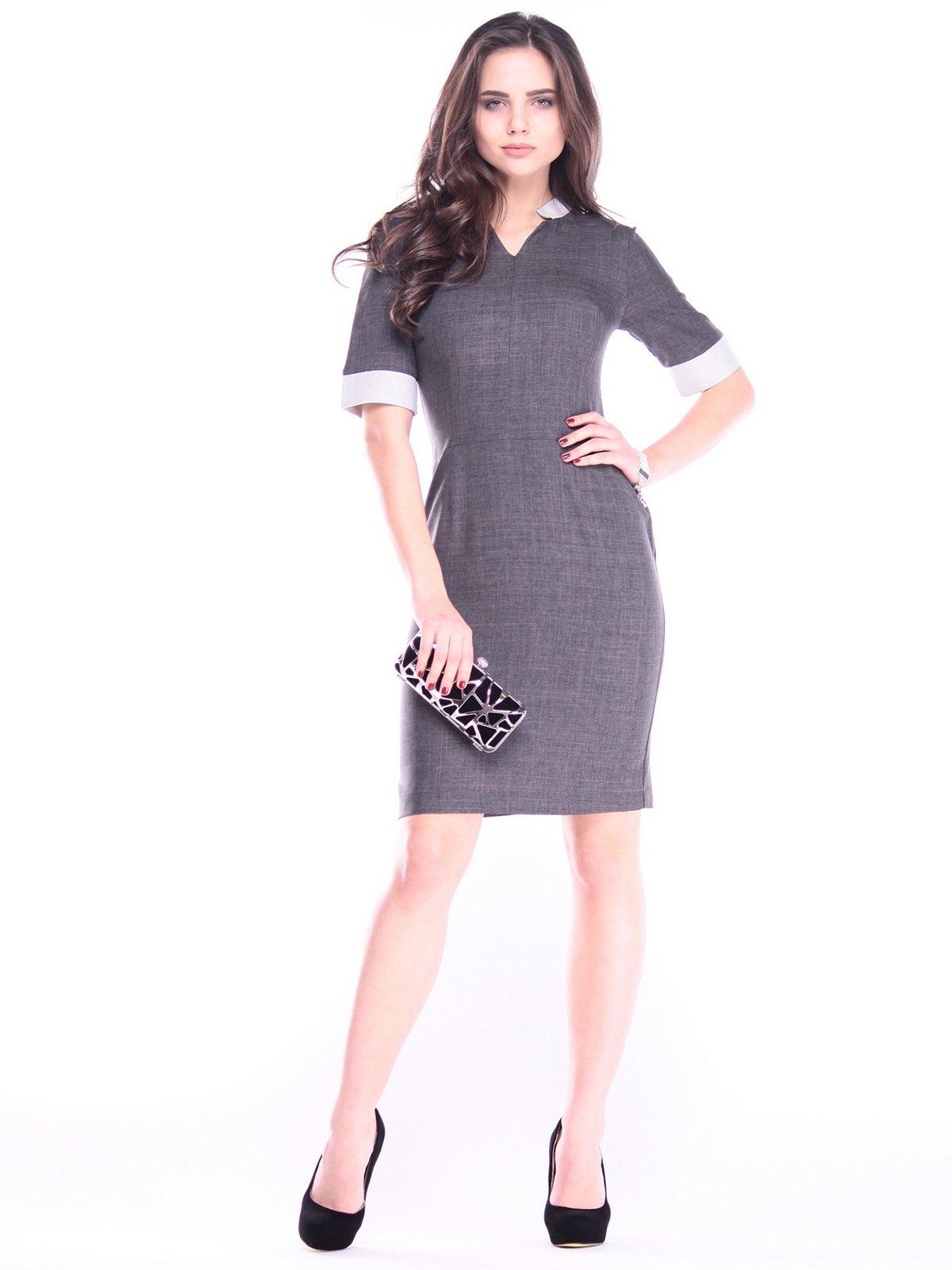 Сукня графітового кольору | 2996586