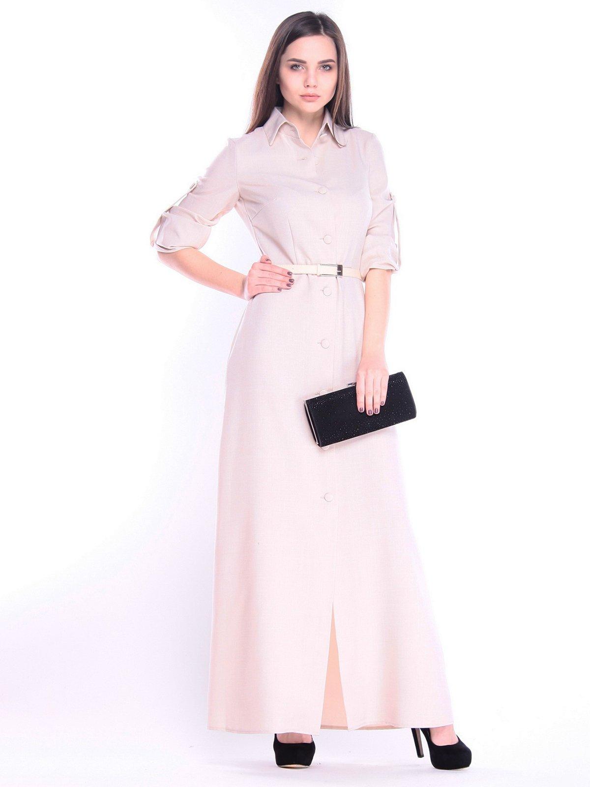 Платье бежевое | 3141558