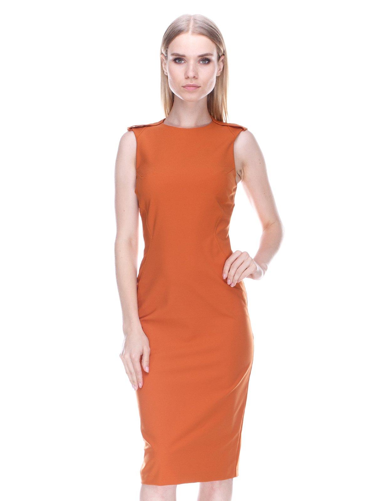 Платье терракотовое   3478010