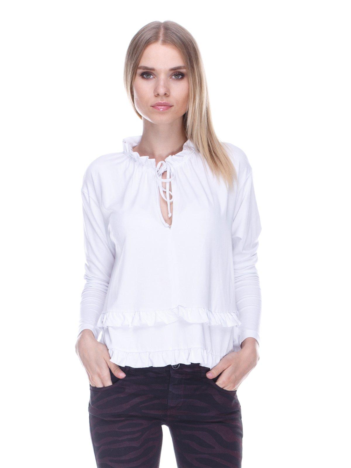 Блуза белая | 3478001