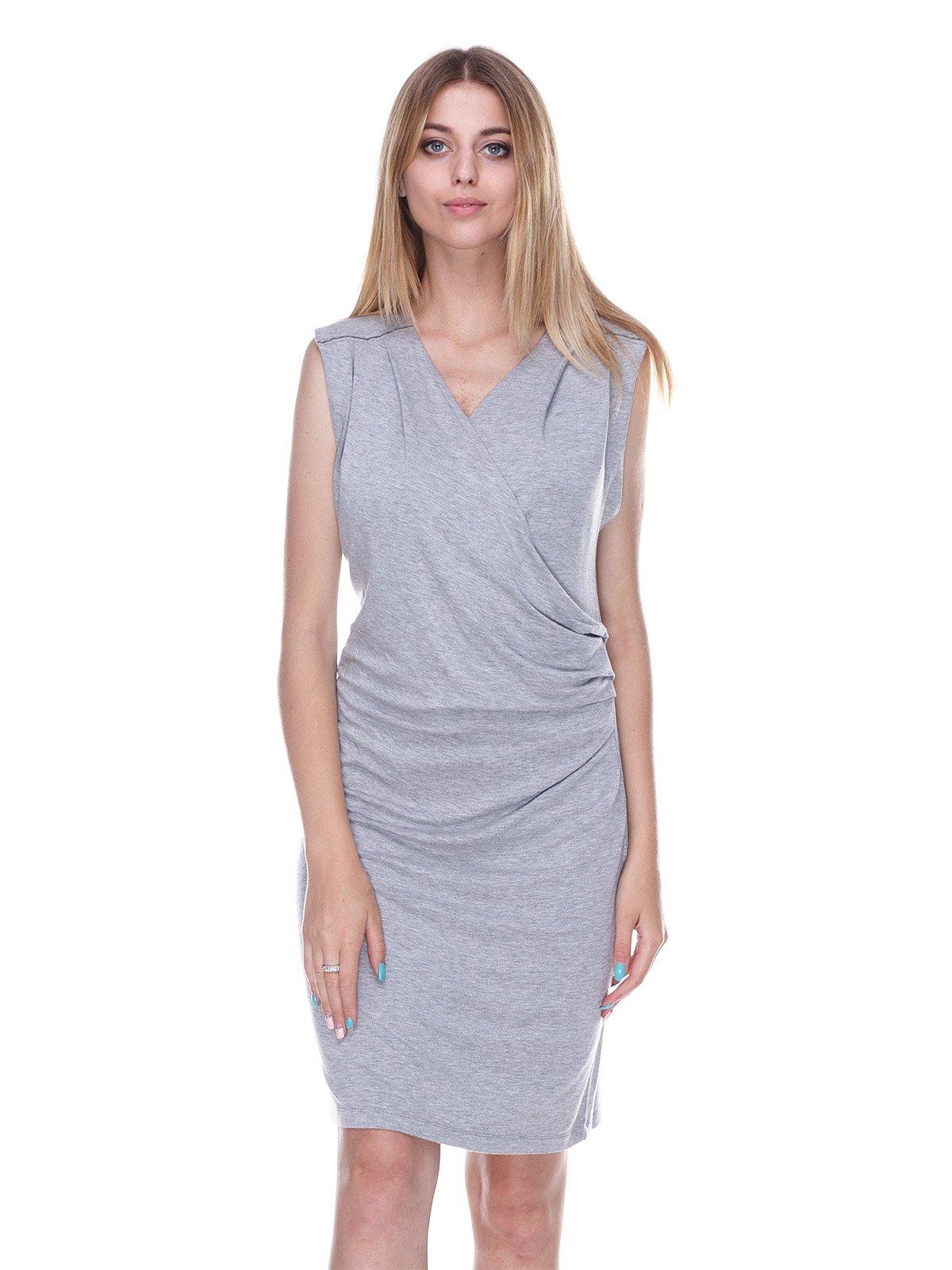 платье серое Julie Brandt акция действует до 31 декабря 2019 года