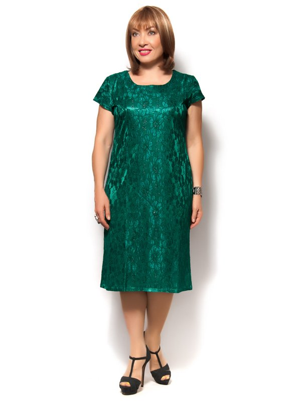 Платье зеленое | 3491372