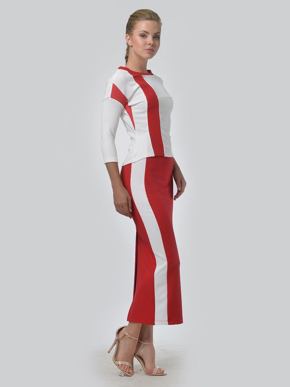 Комплект: джемпер и юбка | 3498319 | фото 4