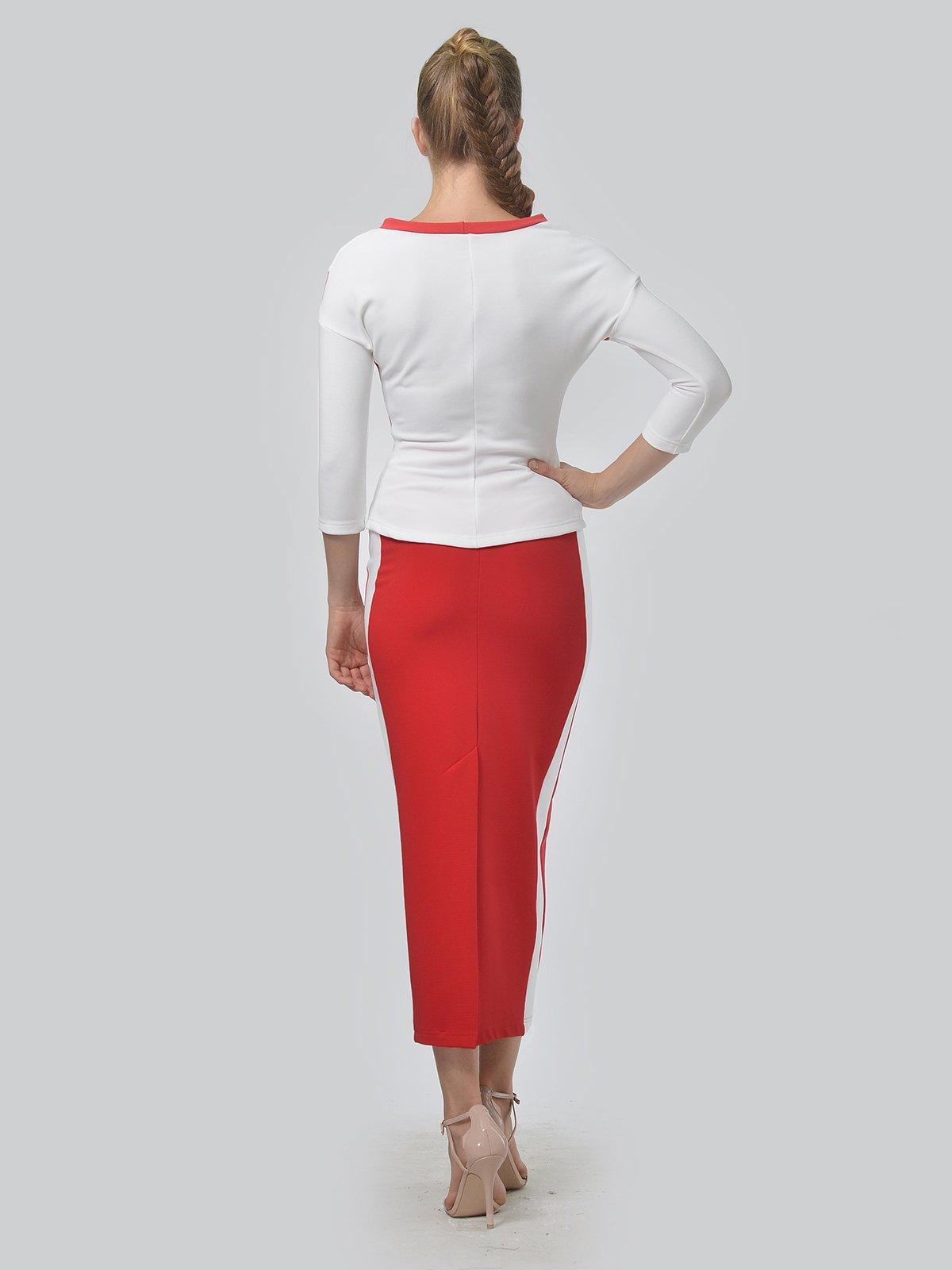 Комплект: джемпер и юбка | 3498319 | фото 5