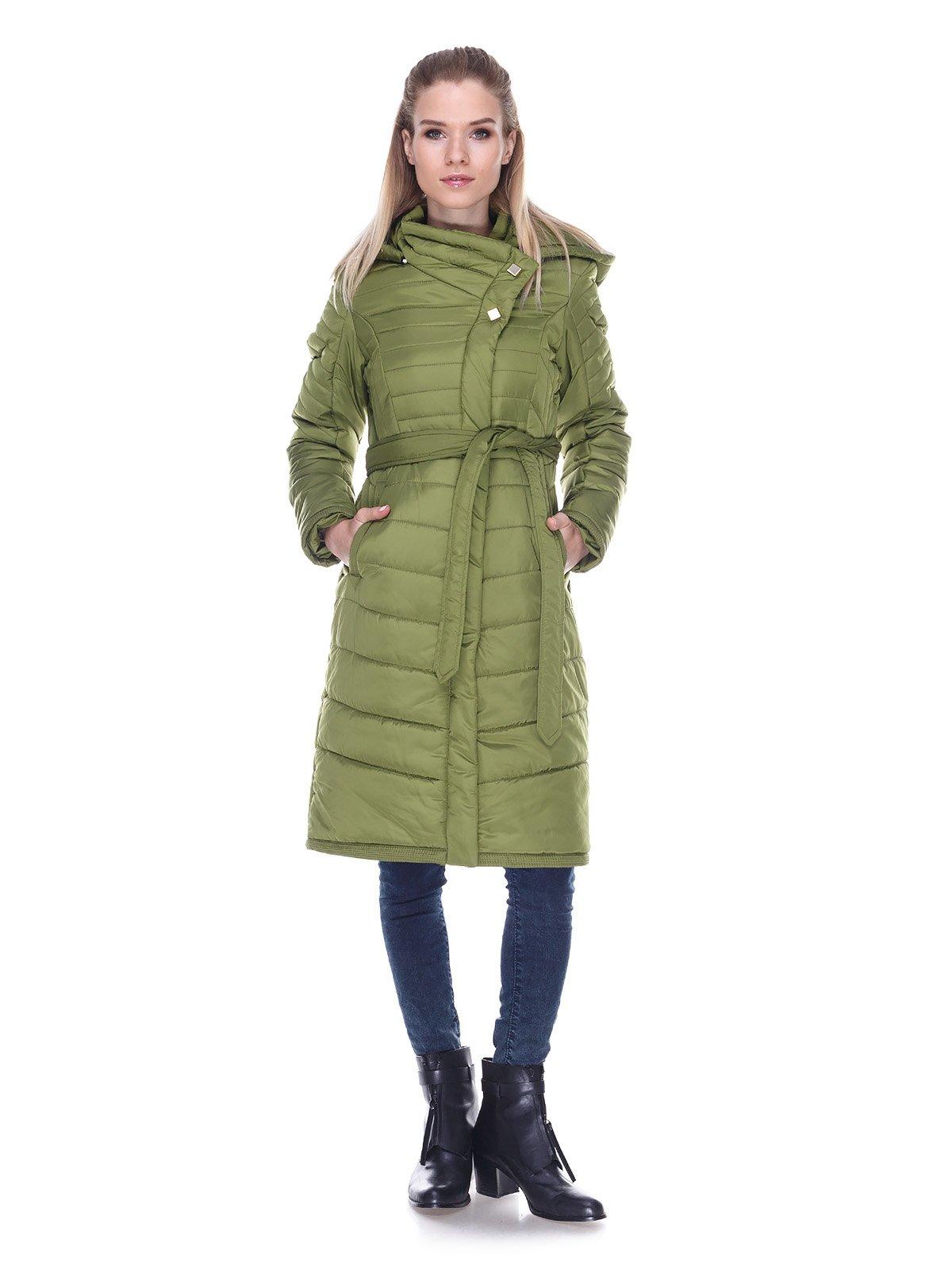 Пальто зеленое   3476667   фото 4