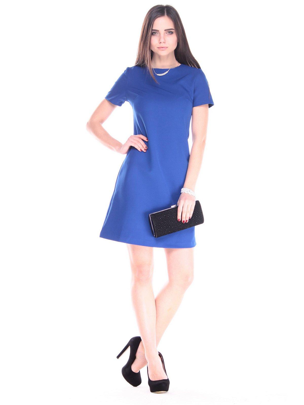 Платье цвета электрик | 2899365