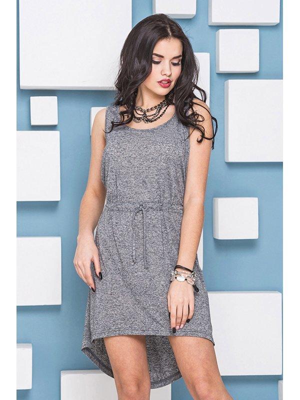 Платье серое   3403481