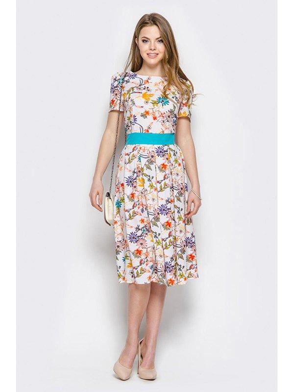 Платье цветочной расцветки | 3403491