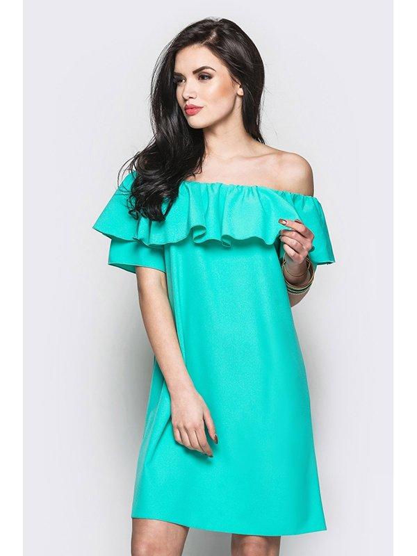 Платье зеленое | 3403510