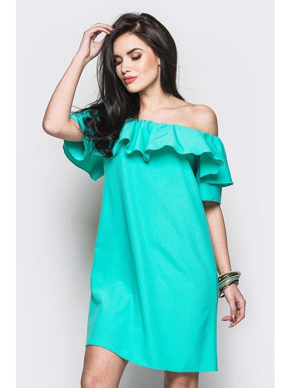 Платье зеленое | 3403510 | фото 2