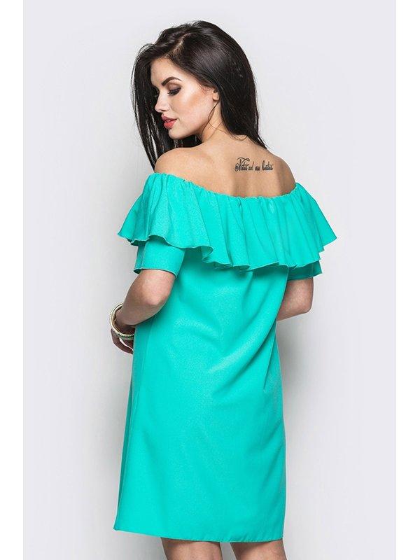 Платье зеленое | 3403510 | фото 3