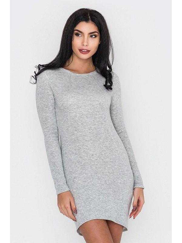 Платье серое | 3449013