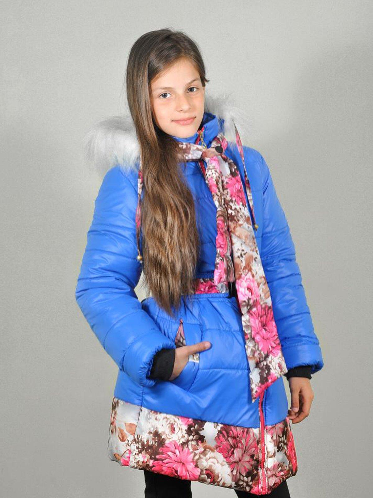Комплект: пальто и шарф   3271899