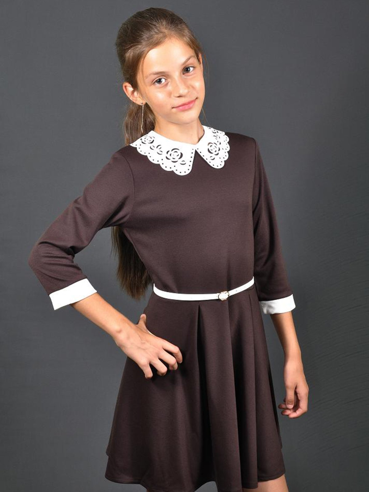 Платье коричневое | 3271963
