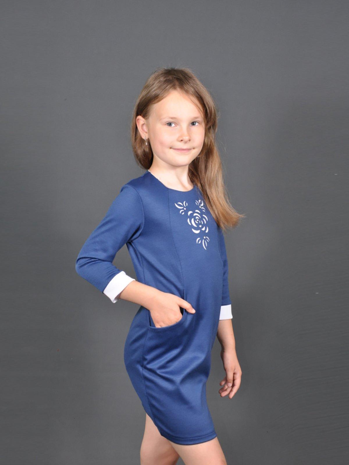 Сукня синя   3435540   фото 2