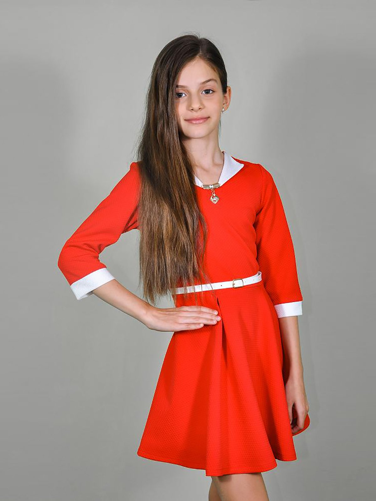 Платье красное | 3468541