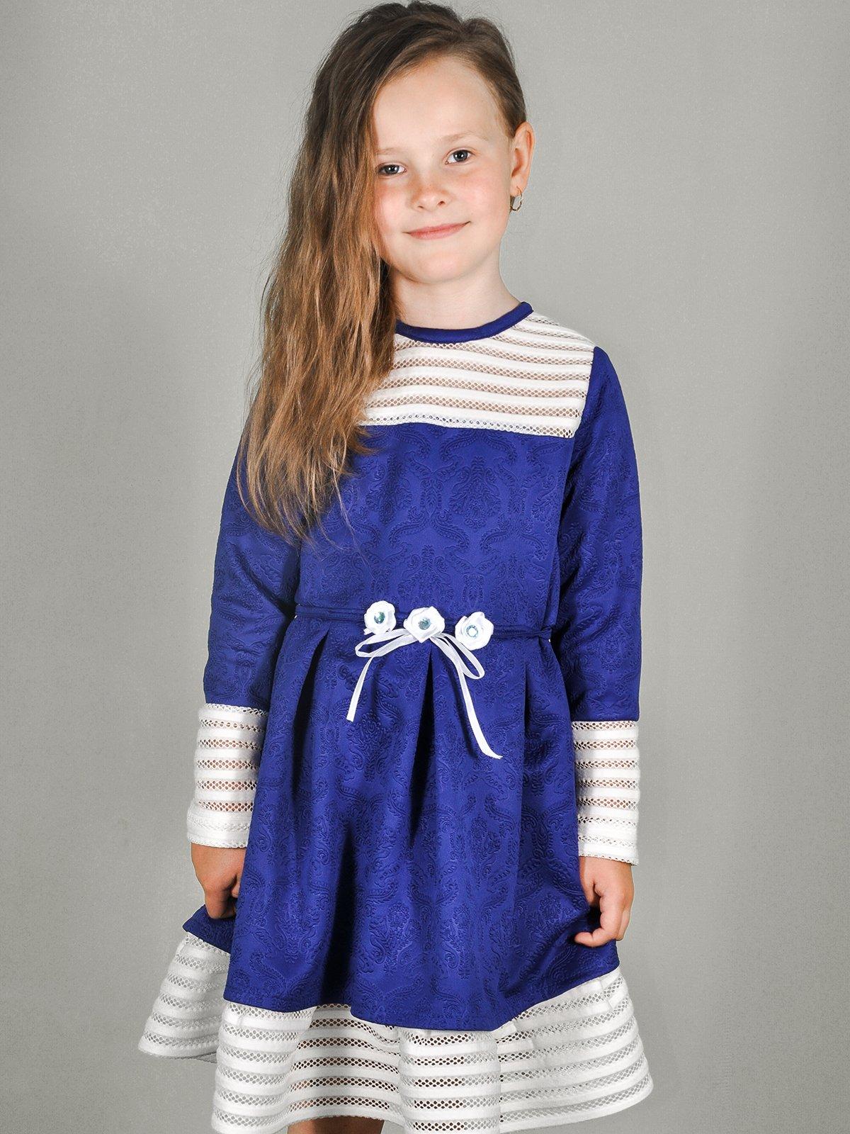 Платье сине-белое   3484110