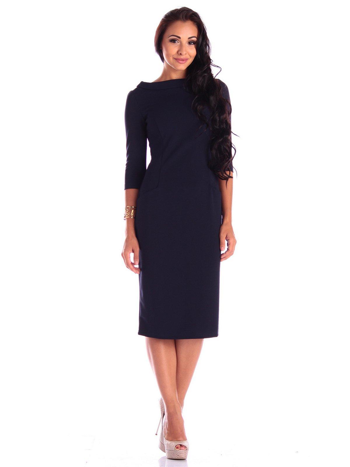 Сукня темно-синя | 3503886