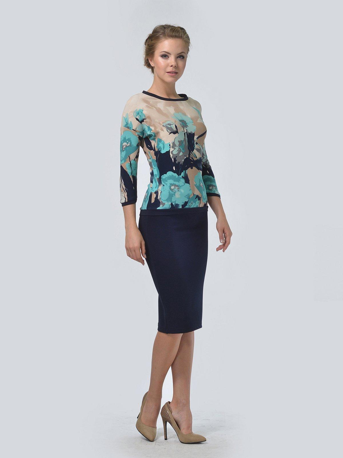Комплект: джемпер и юбка | 3505447 | фото 3