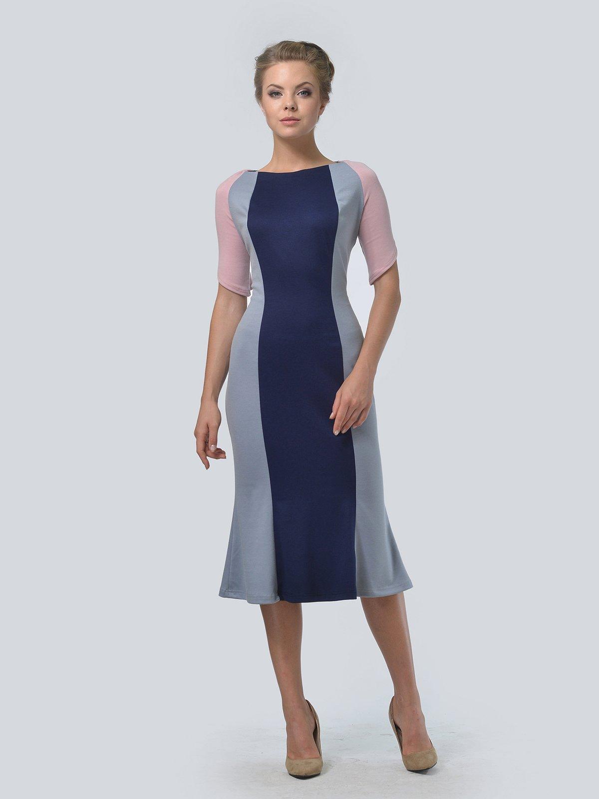 Сукня триколірна | 3505477