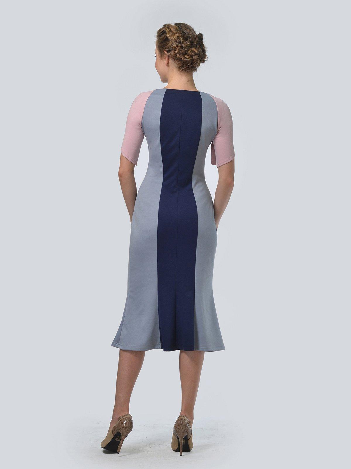 Платье трехцветное   3505477   фото 2