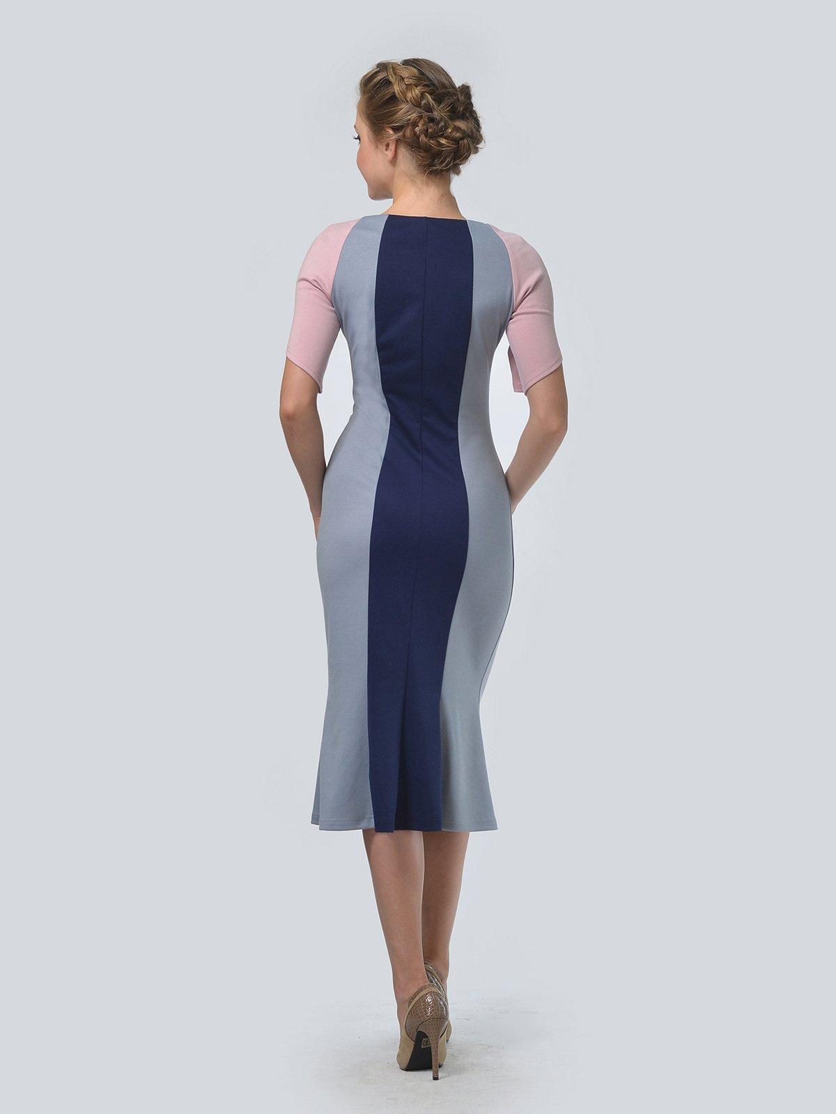Платье трехцветное   3505477   фото 3