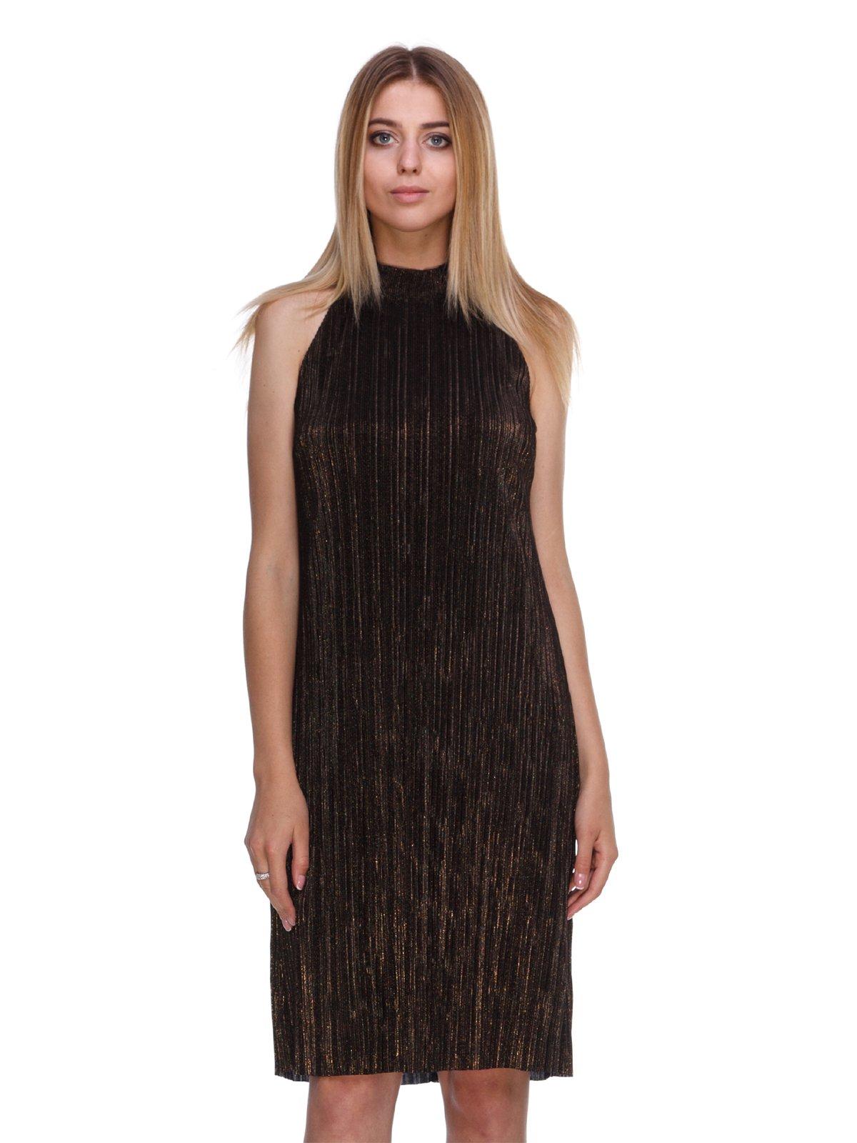 Платье бронзового цвета | 3488079