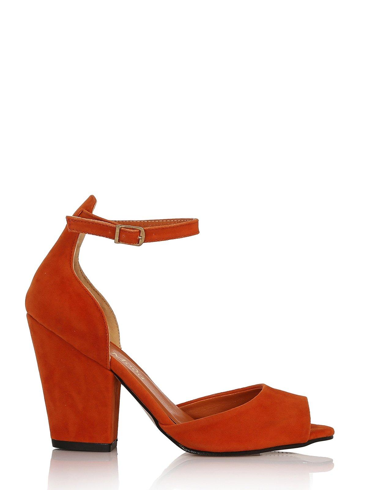 Босоножки оранжевые | 3492525