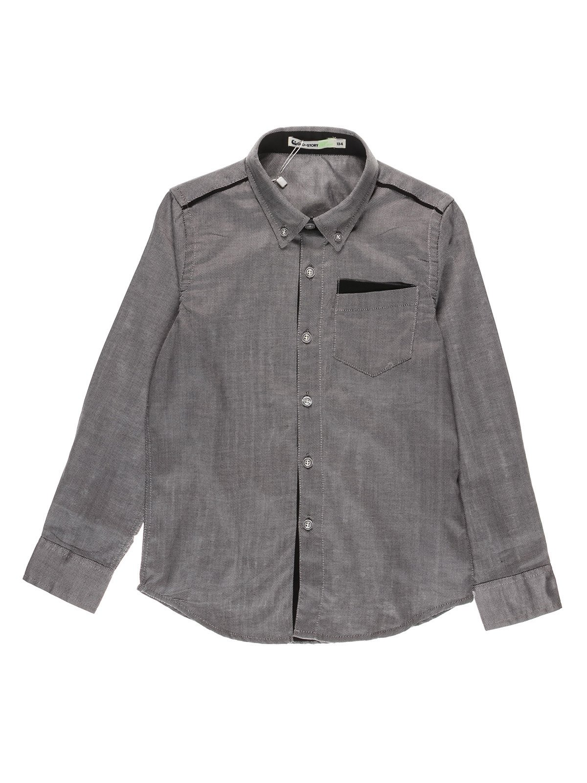 Рубашка серая | 3511331