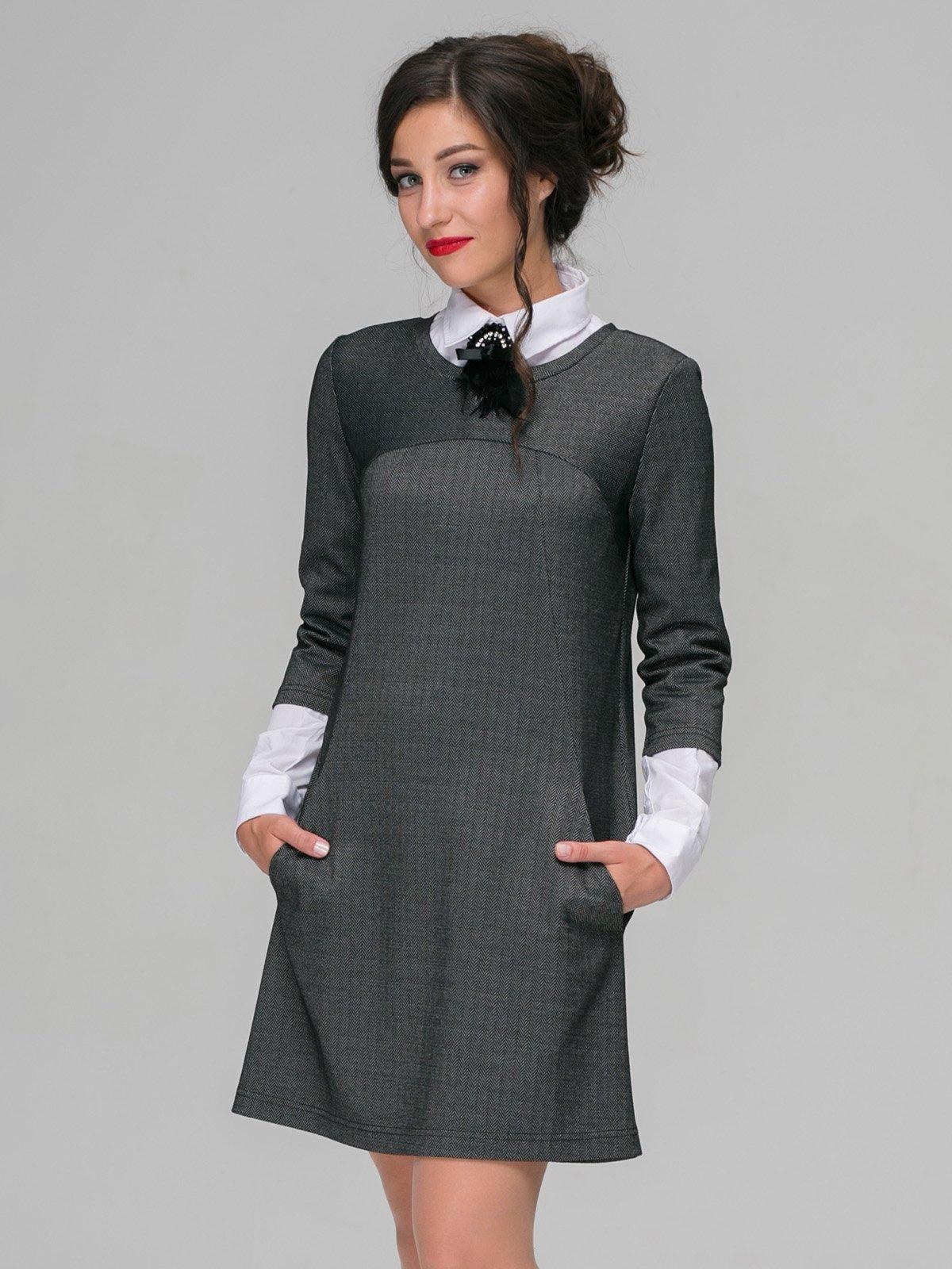 Платье серое | 3527641