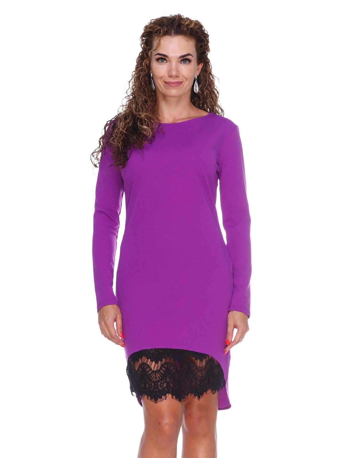 Платье с кружевом | 3086346