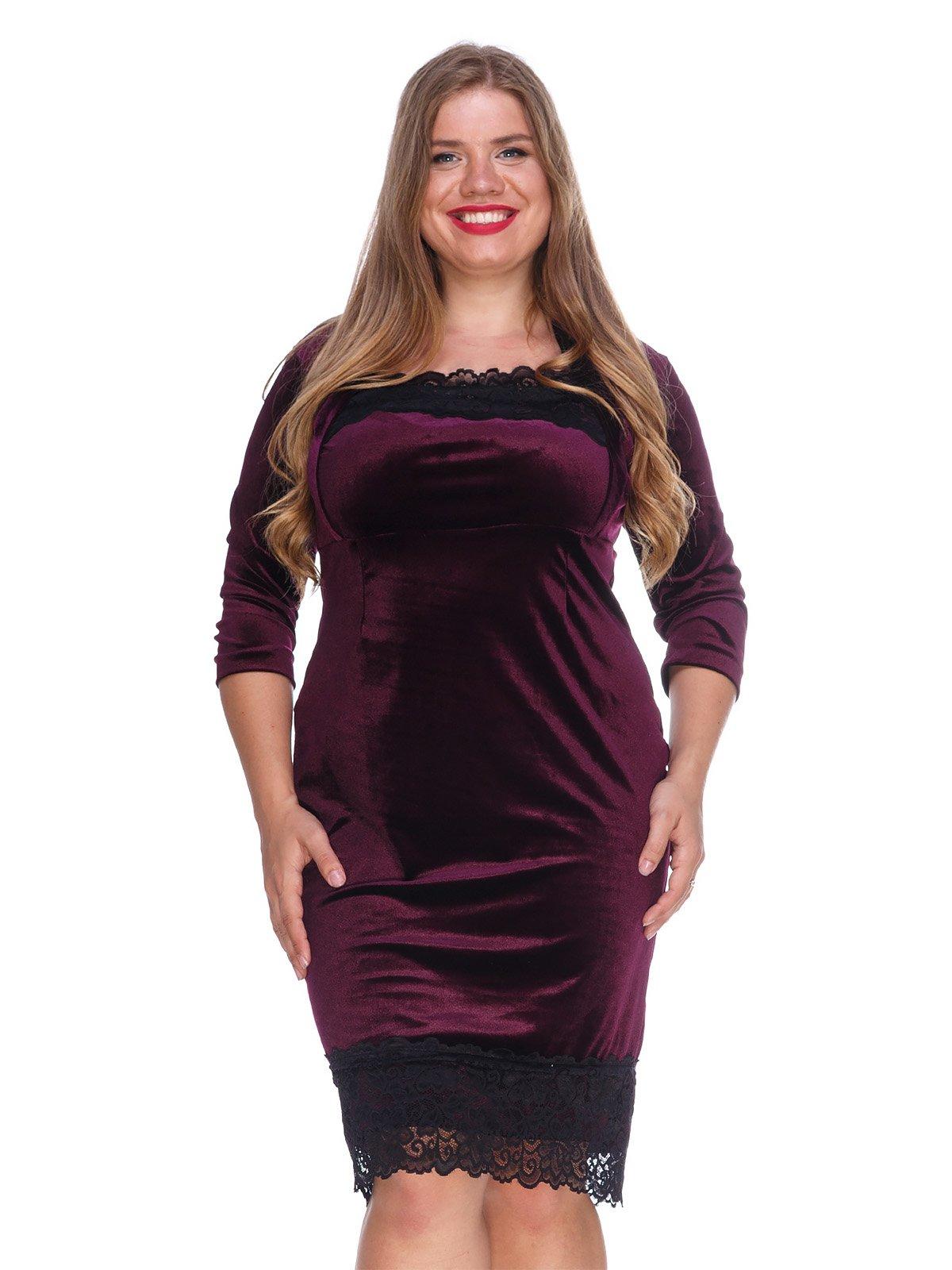 Сукня оксамитова фіолетова   3207640