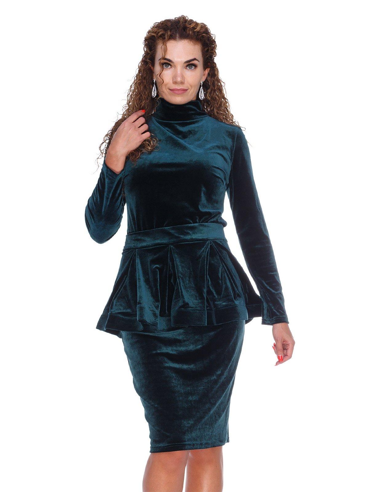Сукня смарагдового кольору | 3086337