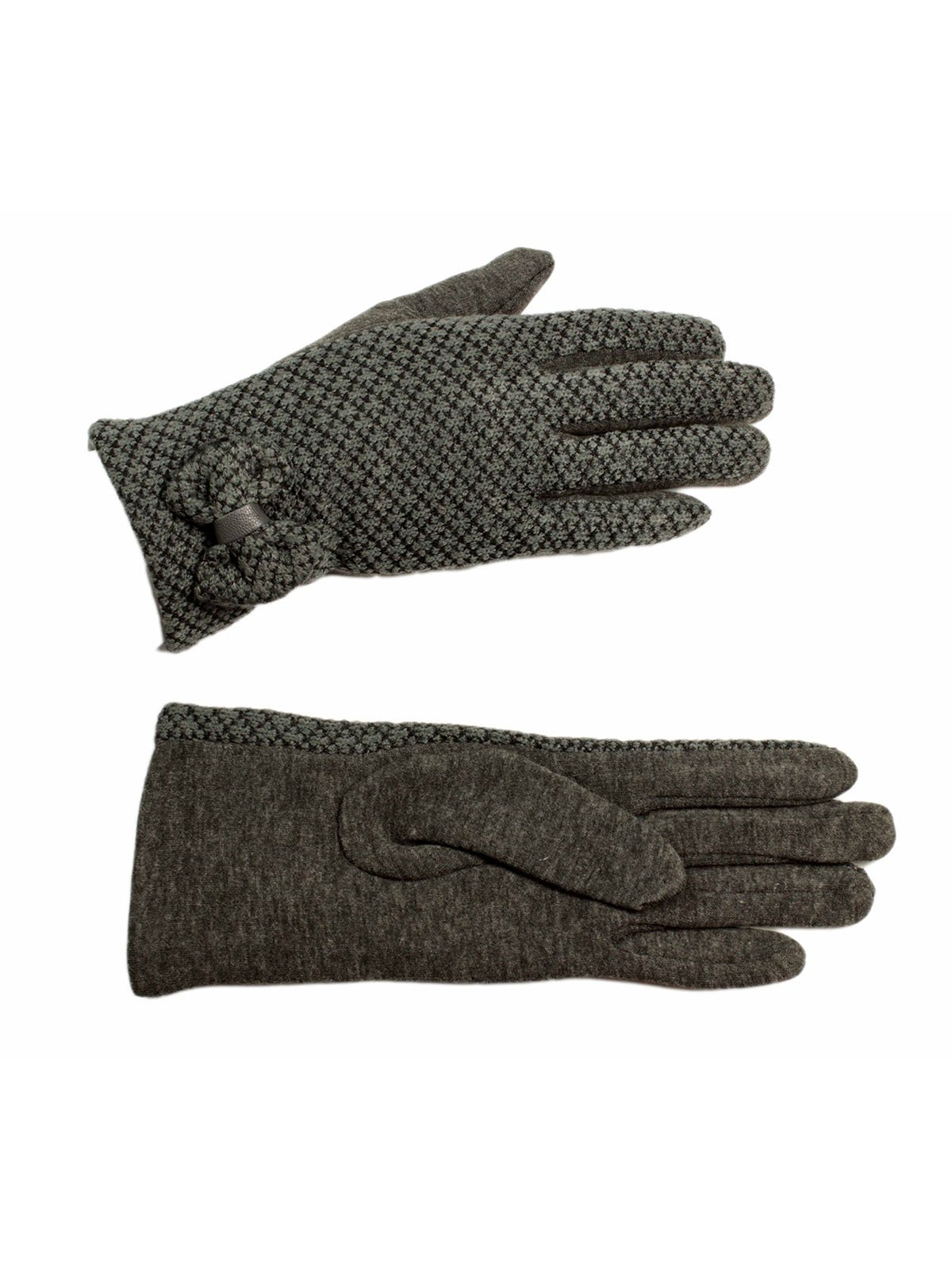 Перчатки серые | 3529329