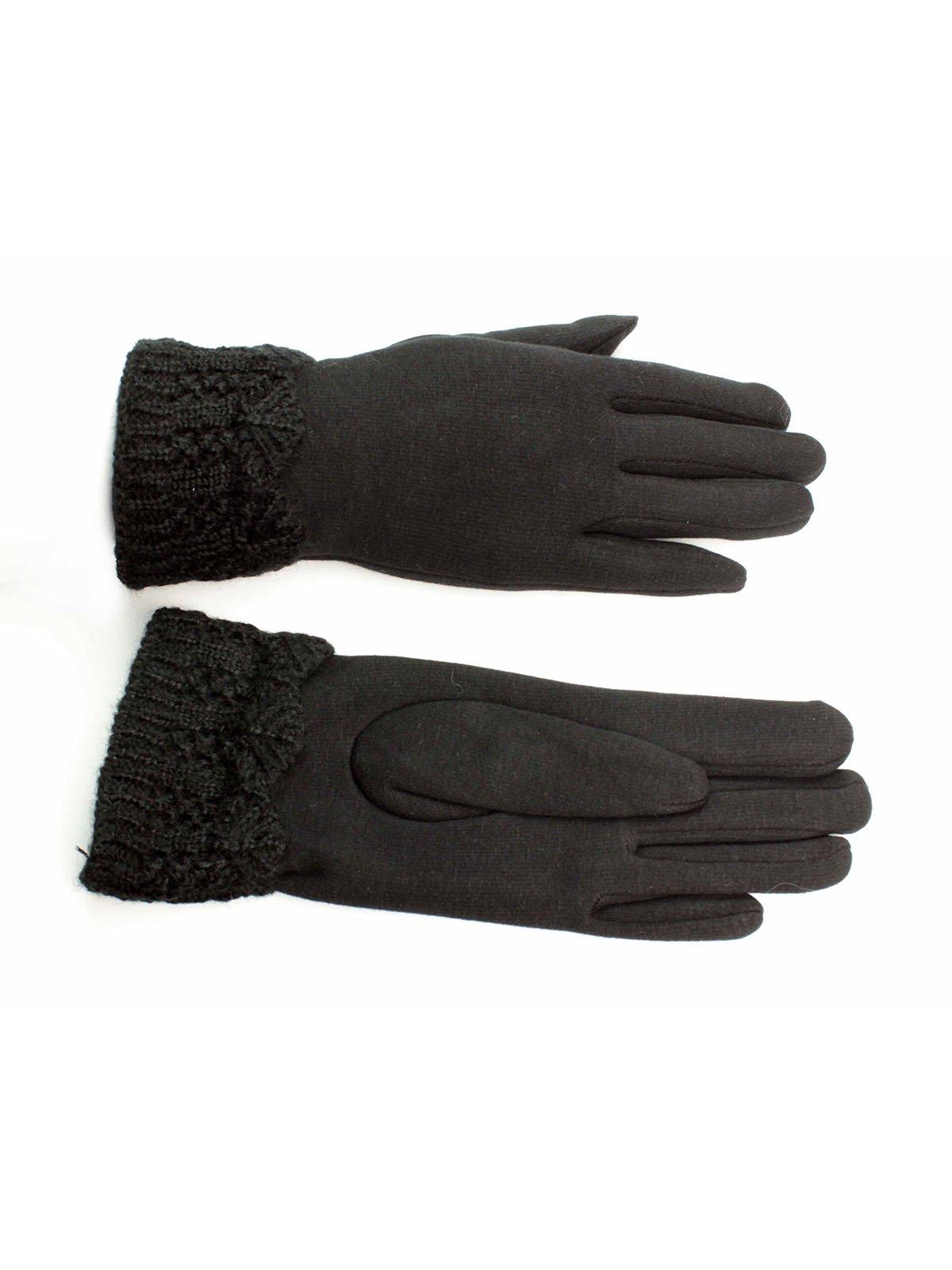 Рукавички чорні | 3529478