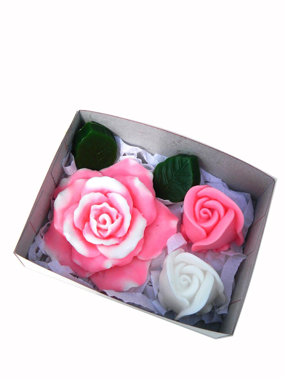 Набір мила ручної роботи «Трояндовий букет» (140 г)   3529459