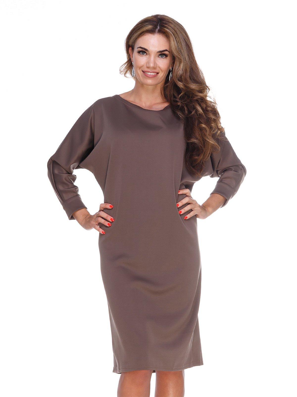 Сукня кавового кольору | 3086317