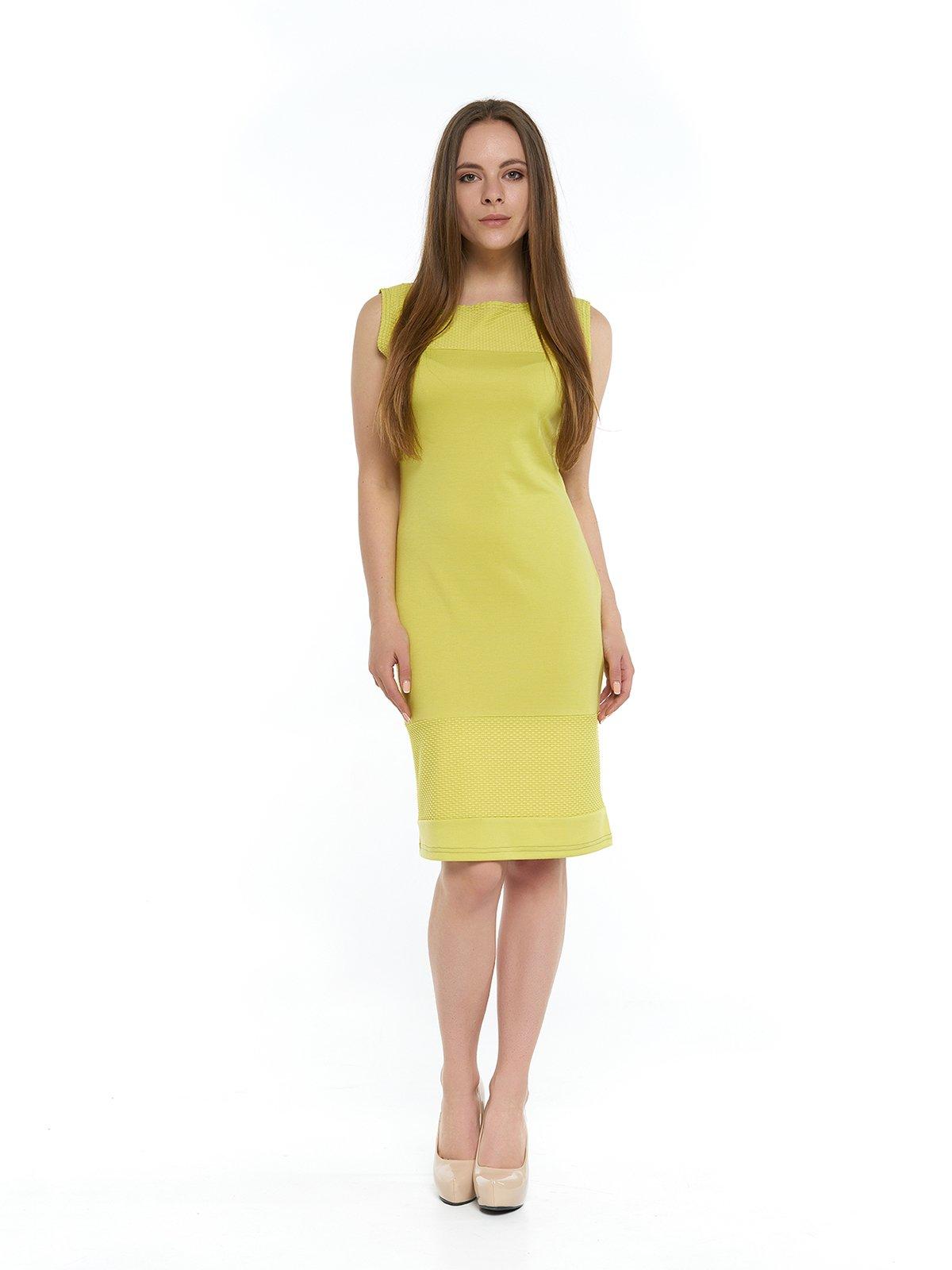 Сукня гірчичного кольору | 3264137