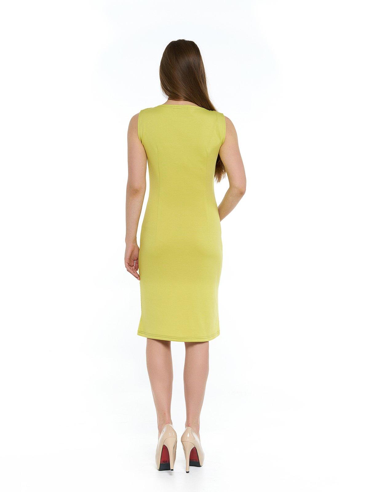 Сукня гірчичного кольору | 3264137 | фото 2