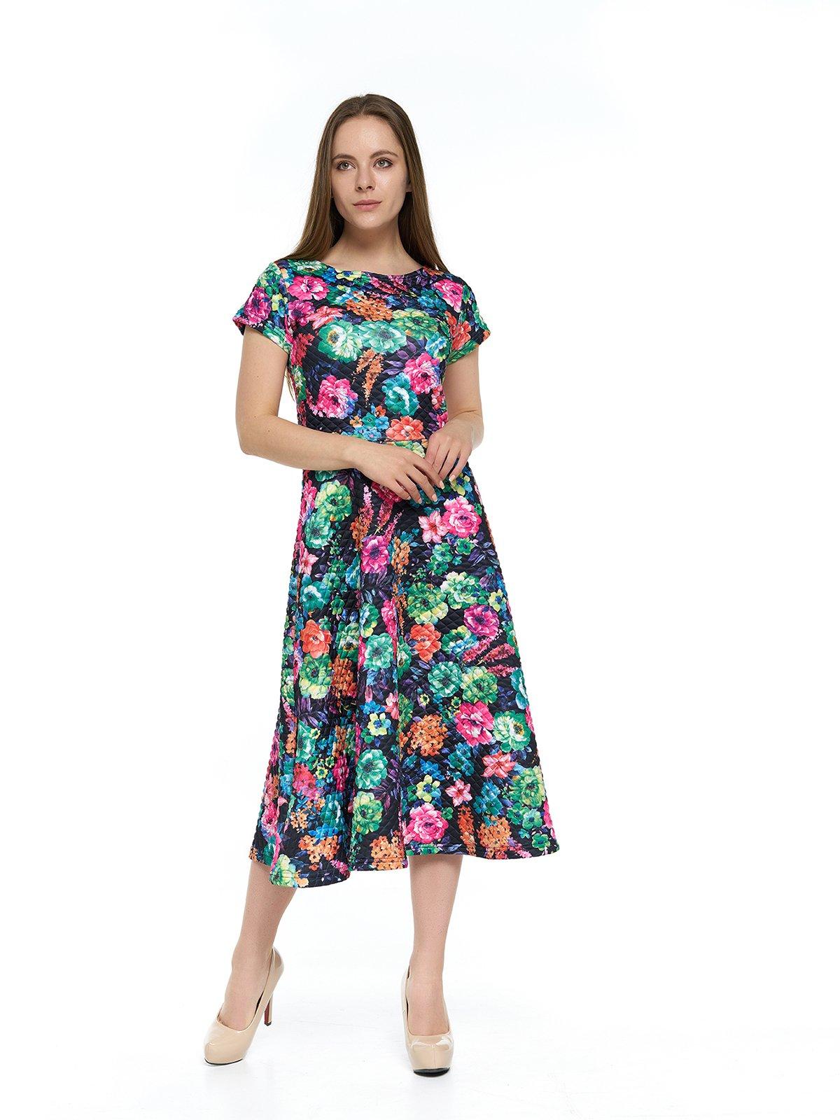 Сукня в квітковий принт | 3264145